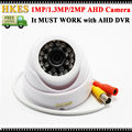 New Arrival AHD CCTV Camera Surveillance 1080P 960P 720P Indoor Video Camera Security 24 IR LEDS
