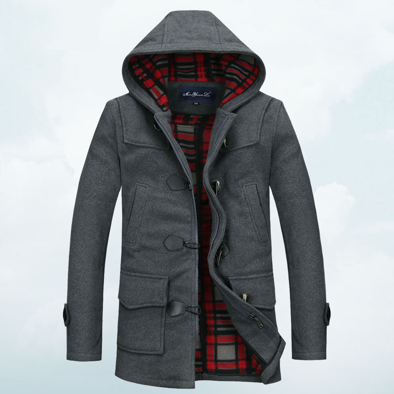 Mens Pea Coat With Hood | Gommap Blog