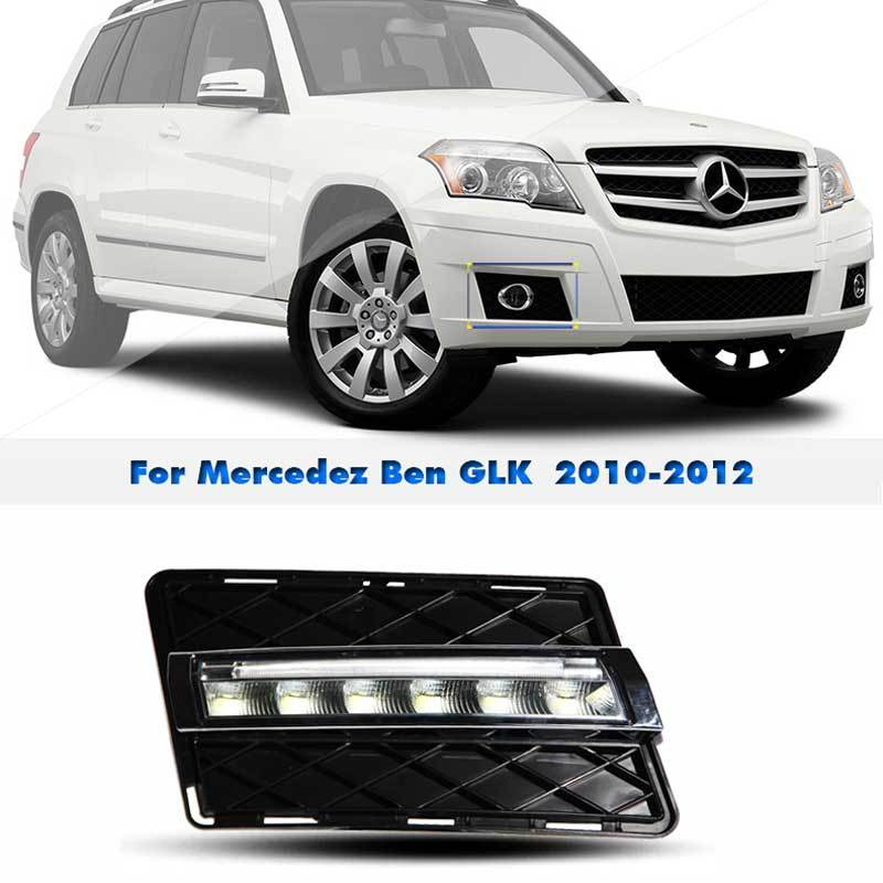 Drl led daytime running lights aftermarket car styling for Mercedes benz aftermarket accessories
