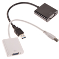 USB3 0 to VGA Video Graphic Card Display External Cable Adapter for Win 7 8