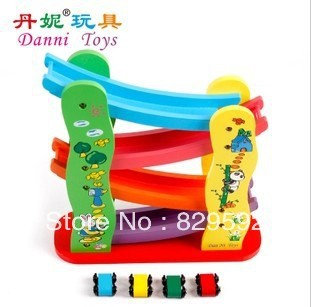 Baby  Wooden Track  Toys Rapid Coaster