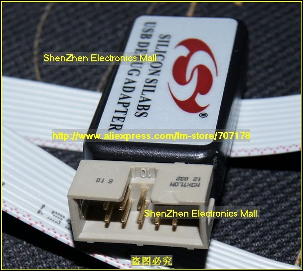 Free Shipping, C8051F emluator,USB Debug Adapter For c8051F MCU,U-EC3 U-EC5 U-EC6