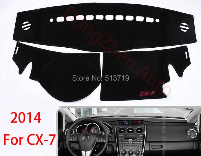 Car dashboard Avoid light pad Instrument platform desk cover Mats Carpets Auto accessories For 2014 Mazda cx-7<br><br>Aliexpress