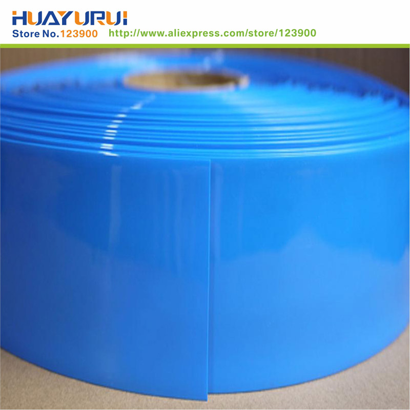 Long -1m width -300mm blue PVC pipe thermal model accessories lithium battery sleeve insulation package<br><br>Aliexpress