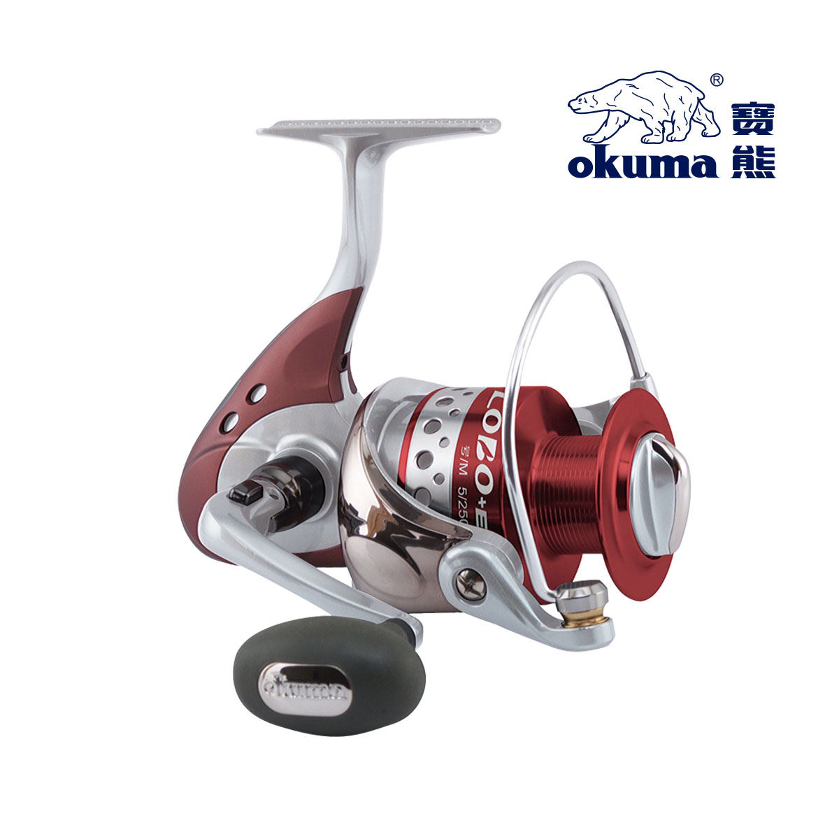 Fishing tackle okuma fishing tackle fishing vessel wheel spinning reel gray wolf loe-4000(China (Mainland))
