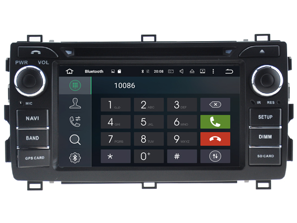 Android 6.0 CAR DVD GPS FOR TOYOTA AURIS 2013 support DVR WIFI DSP DAB OBD car multimedia AUTO Octa 8 Core 2GB RAM 32GB ROM
