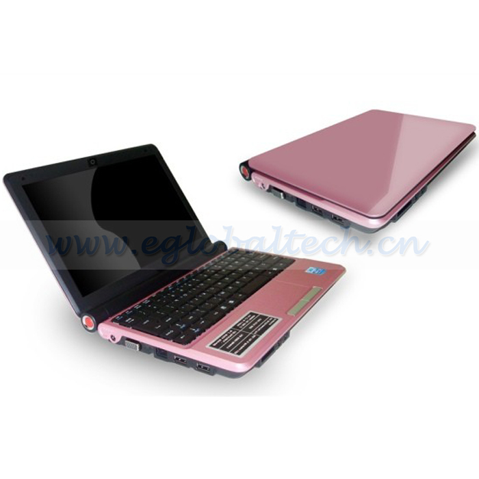 "10.2"" Mini Notebook CPU Intel Atom D2500 1.8GHz Dual Core Smart Laptop Computers 2GB DDR3, 160G HDD Windows 7 O/S School Laptop(China (Mainland))"