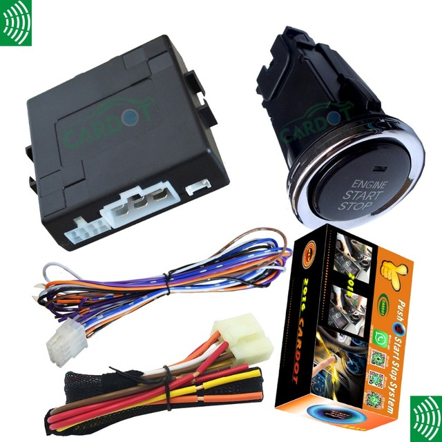 Universal automotive push stop start car engine long start button remote start engine by OEM remote key or alarm remote