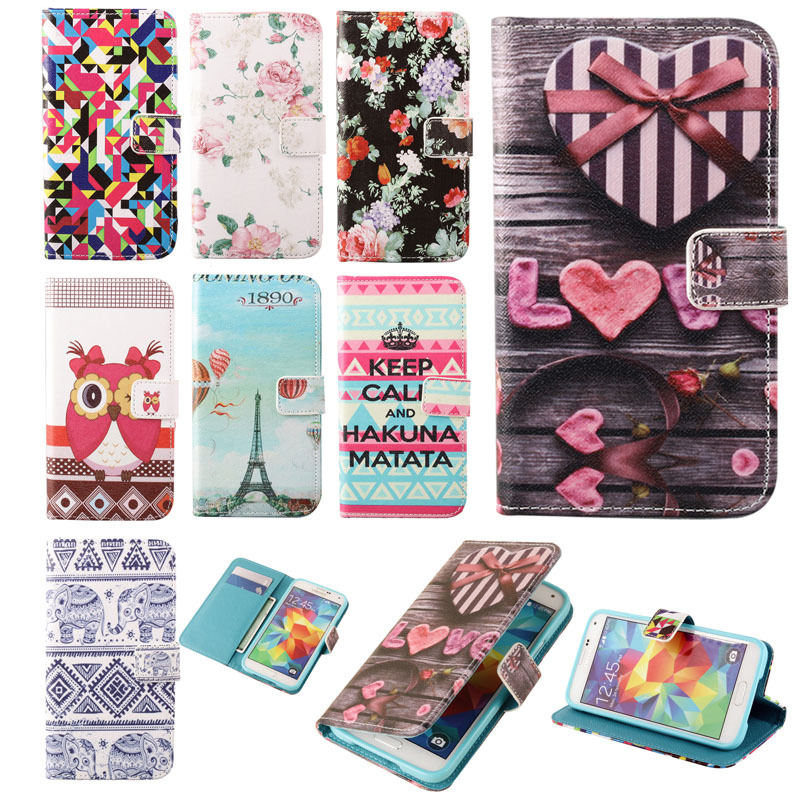 Leather Case Sony Xperia Z1 Compact Flip Wallet Cover mini D5503 Phone Card Holder Stand - Sue-kk-mall store