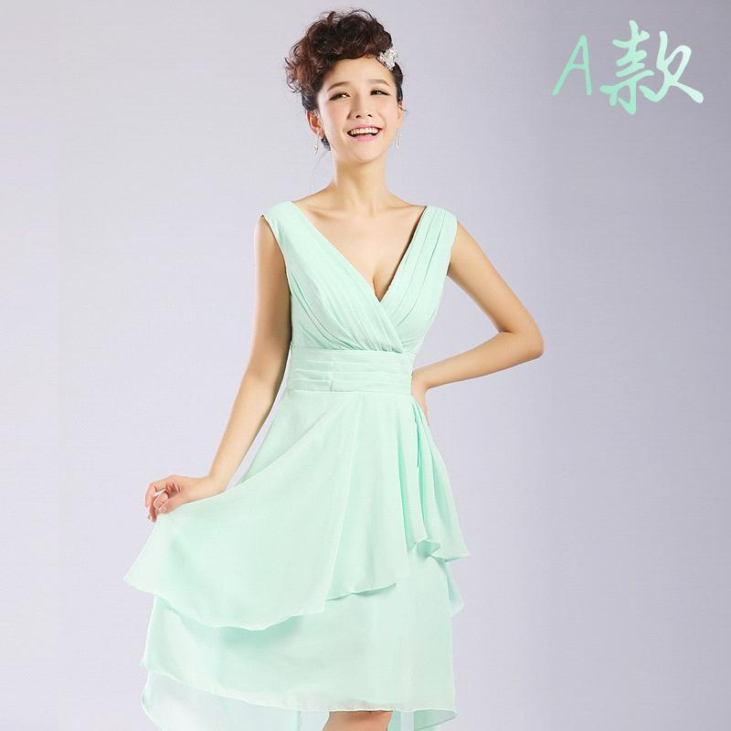 buy robe demoiselle d 39 honneur mint green convertible short bridesmaid dresses. Black Bedroom Furniture Sets. Home Design Ideas