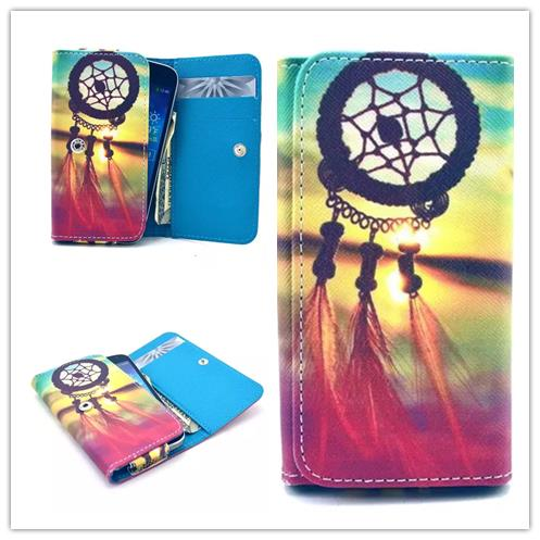 TOP Quality Painting Leather Phone Cases For DELL Venue images 4.1 Wallet Style With Card Slot Back Cover Case(China (Mainland))