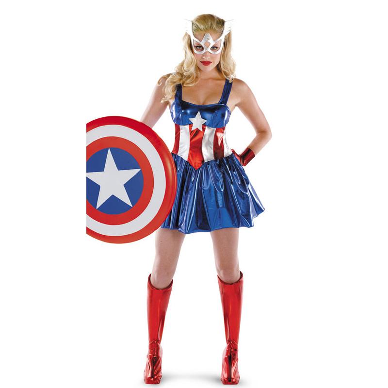 Achetez en gros capitaine am ricain costume en ligne des - Capitaine americain ...