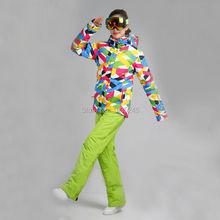 2016 Ski Snowboard Suit Ski Jacket Women Snow Wear Winter Jacket Women Snowboard Jacket Ski Pants Cross Country Skiing Female(China (Mainland))