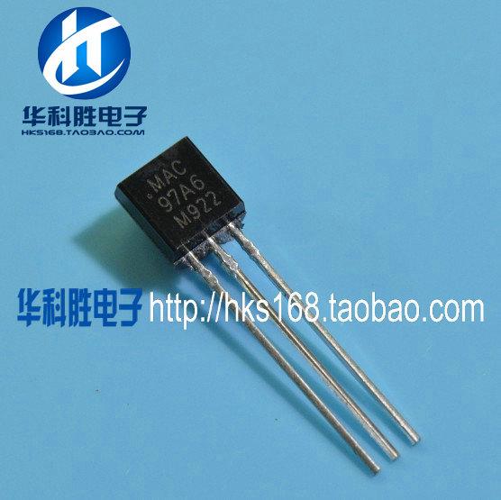 [Free shipping]97A6 97A6 Triac TO-92(China (Mainland))