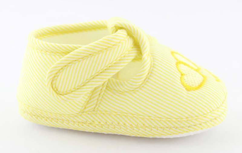В форме сердца печать детская обувь девочка мальчик анти-слип / мини - доказательство обувь хлопок малыша первые ходунки дети подарок