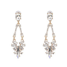 JUJIA Mùa Hè Mới Phong Cách Rhinestone cầu vồng Drop Earrings Dangle Earrings Đối Với Phụ Nữ Wedding Party Sạn Holiday Quà Tặng Trang Sức(China)