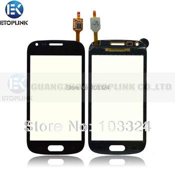 Pour Samsung GT- S7560m pour Galaxy Ace II - X Blanc Noir écran tactile Digitizer verre 10pcs par l'expédition DHL gratuit
