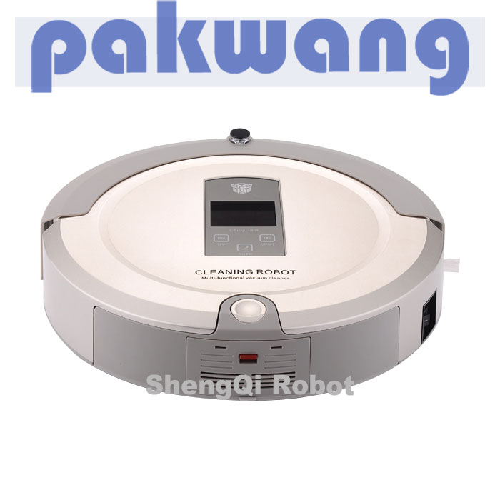 EMS Free Shipping Sweeper| MOP | Virtual Wall | Recharge Base | UV Lampe Household robotic vacuum cleaner(China (Mainland))
