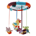 SHILOH Hot Sale Crib Toy New Musical Mobile Baby Crib Rotating Music Box Plush Doll 60