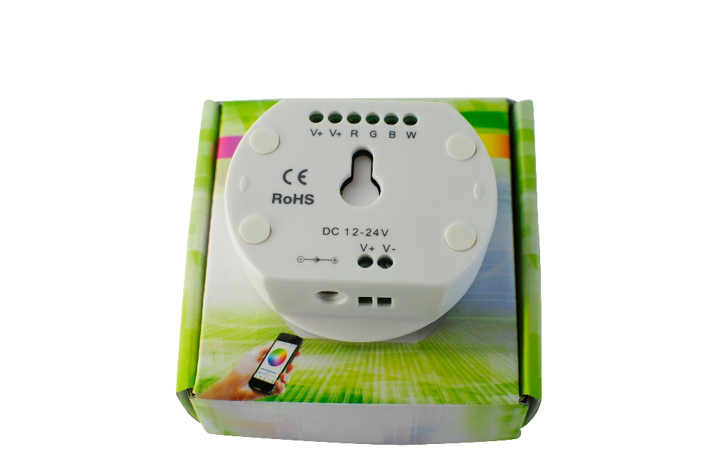5pcs/lot NEW UFO MINI led bluetooth controller,DC12-24V,RGB/RGBW,Timing function,group control,music mode,16million colors,<br><br>Aliexpress