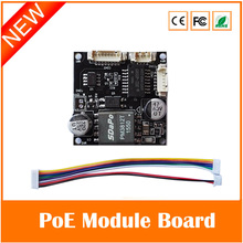 PoE Module Board PM3812T for Security CCTV Network IP Cameras Power Over Ethernet 12V 1A Output IEEE802.3af Compliant 38*38mm(China (Mainland))