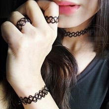 Hot New fashion jewelry Fishing Line weave tattoo choker necklace gift for women girl lovers(China (Mainland))