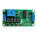 OOTDTY DC 5V Multifunction Self lock Relay PLC Cycle Timer Module Delay Time Switch