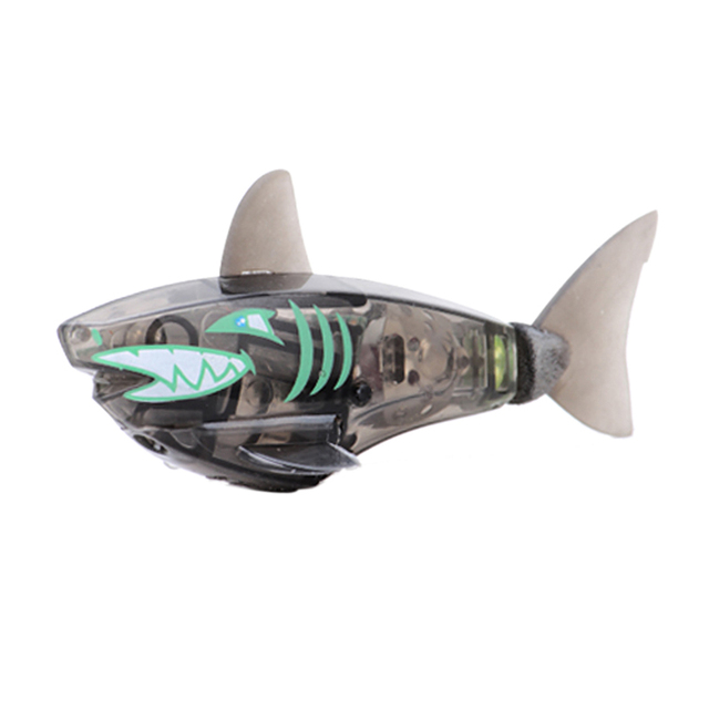 New Design 5 colors Activated Battery Powered Robot Shark Toy Childen Kids Robotic Pet Electronic Pets Toy Gift FCI#