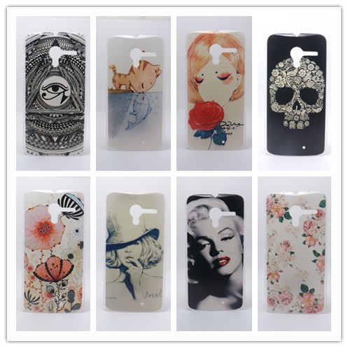 Multi species Painting Hard Plastic Phone Case Cover Motorola Moto X PHONE XT1055 XT1058 XT1060 +1 Free Screen Protector - INSOU Official Store store