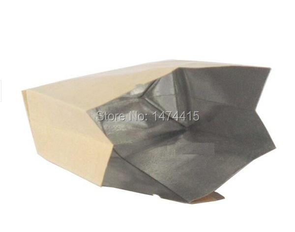 Size 5*10.5*2 cm blank Brown food paper bags kraft paper Tea bags(China (Mainland))