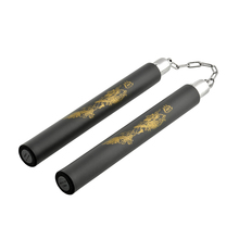 Classical Hot Sales New Martial Arts Training Practice Foam Pad Nunchucks Karate Nunchakus Dragon View(China (Mainland))