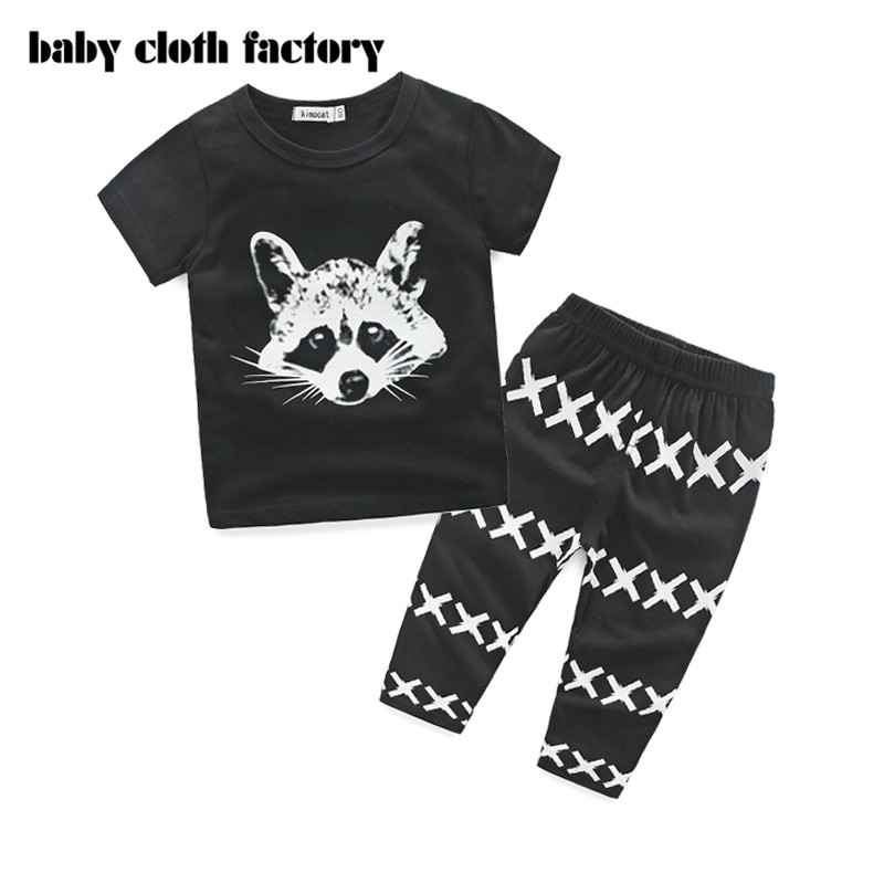 2016 High Quality baby clothing sets cotton brand baby