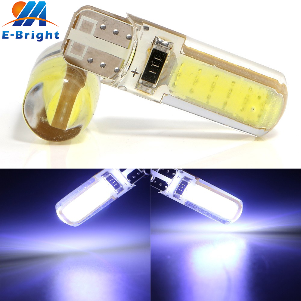 YM E-Bright 20-200-500Pcs T10 194 168 COB 12 SMD W5W 12Led Reading Light Indicator Lamp Car Automotive Led License Plate Lights