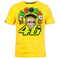 2016 NEW Summer Motogp the doctor Tees Men Cotton Motorcycle T shirts Valentino Rossi VR46 Short