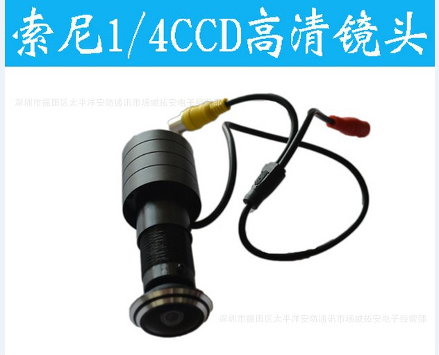 170 Wide Angle CCD Wired Mini night vision Door Eye Hole Peephole Video Camera Color DOORVIEW CCTV 1/4' Sony Camera(China (Mainland))