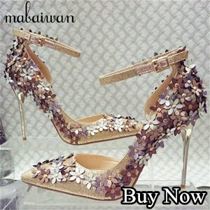 Full Rhinestone Sexy Women High Heels Party Wedding Dress Shoes Women Platform Pumps Zapatos Mujer Valentine Shoes Woman On Sale
