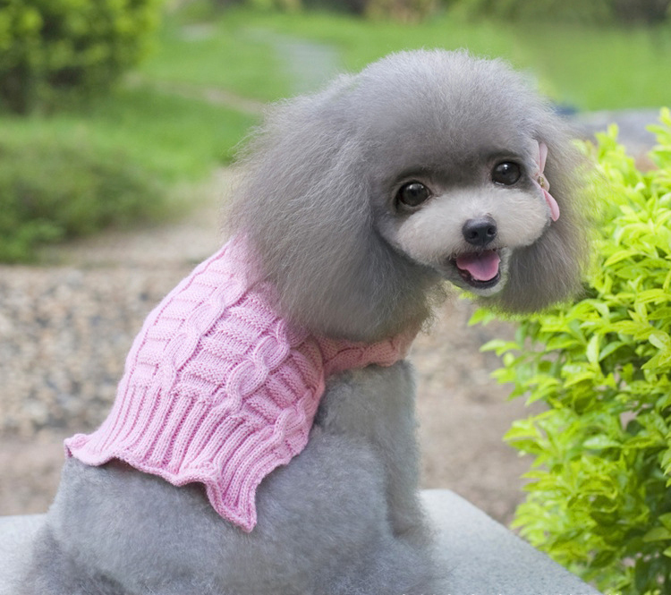 Perfect desgin su ter del perro del perro de lana chalecos for Ahuyentar perros del jardin