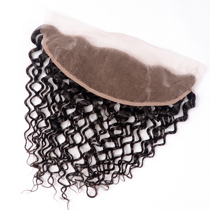 7 A Top Quality Malaysian Virgin Hair Full Lace Frontal Closure Swiss Lace 13 X 4 Lace Frontal With Baby Hair Free Shipping<br><br>Aliexpress