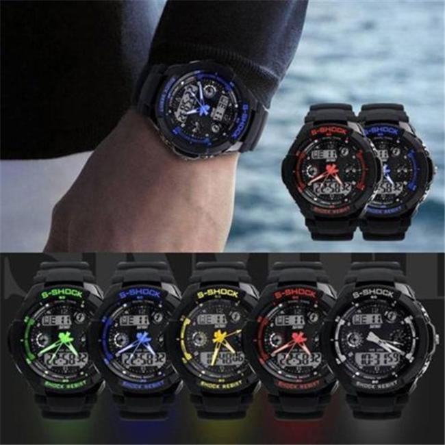 Гаджет  N674 2015 HOT Sale New S-SHOCK Watch Waterproof Military wristwatchs Sport Quartz Wrist Men Mens Analog Digital LED Digit Watch None Часы