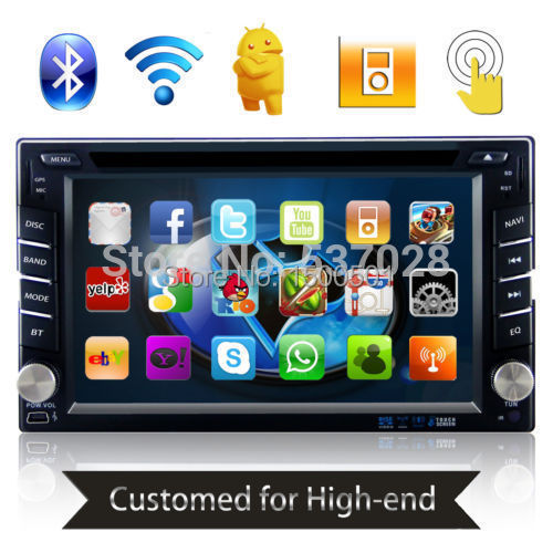 DUAL-CORE Android 4.2 Double 2 Din 3G/Wifi GPS Car DVD Player In-dash Stereo Bluetooth CAPACTIVE Touch Fabia Superb Radio USB SD(China (Mainland))