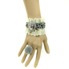 Fashion lolita lace bracelet handmade wrist accessories for women(China (Mainland))