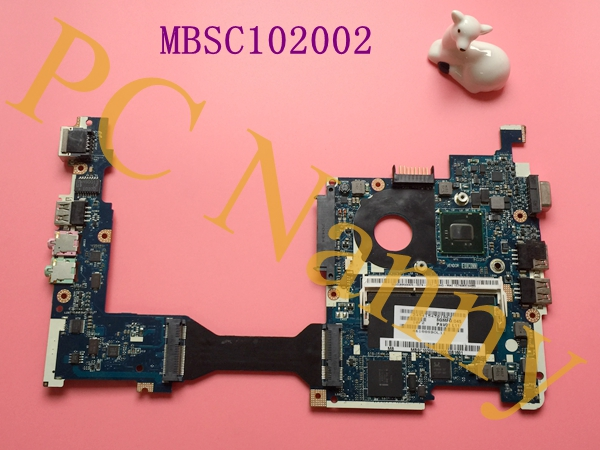 For Gateway LT23 Acer Aspire One AO260 Laptop Motherboard Intel Atom N455 NM10 MBSC102002 NAV80 LA-6222P(China (Mainland))