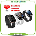 2016 Watch Bluetooth Smart Watch Sport Pedometer Compass Heart Rate SIM Card Smartwatch for IOS and