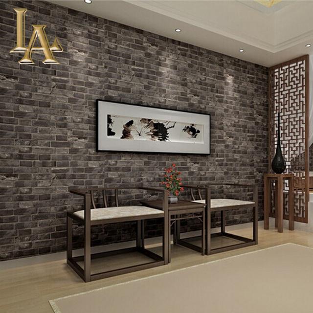 Hei er verkauf klassische chinesische 3d ziegel tapete f r for Wohnzimmer quadratmeter berechnen