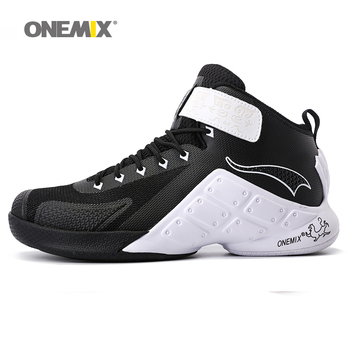 ONEMIX Newest Men Basketball Shoes 2016 Male Ankle Boots Anti-slip outdoor Sport Sneakers Plus Size EU 39-46 Free Shipping