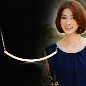 Free Shipping For nec  klace female short design chain 18k rose gold color gold decoration accessories 126 Min Order $20