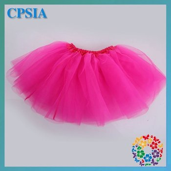 baby hot pink ballet tutu skirts 3 layers tutu skirts multi-colors many colors to choose free shipping 48pcs/lot