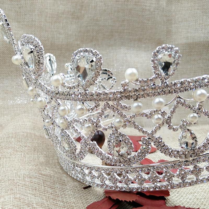 zerongE-jewelry-gorgeous-rhinestone-tiara-silver-large-tall-pageant-brillian-tiara-pearl-tiara-for-wedding-bridal (5)