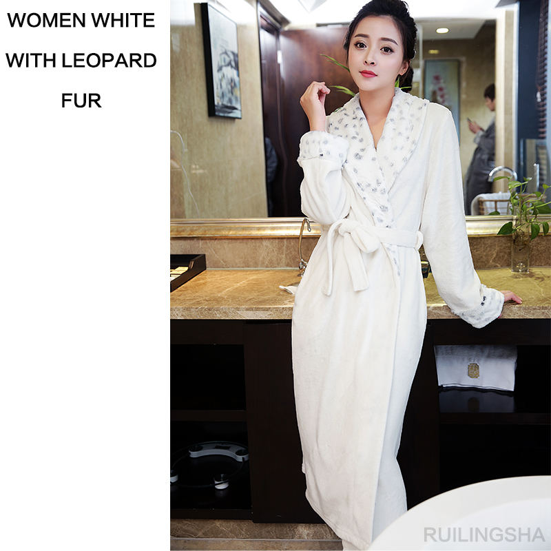 women white with leopard fur