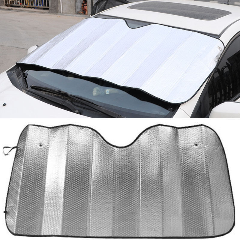 Free Shipping Auto Car Sun Reflective Shade Foldable Sun Visor Wind Shield Visors 1 pc(China (Mainland))